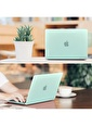"Mcstorey MacBook Air A1465  A1370 11.6"" Kılıf Kapak Koruyucu Hard Incase Mat Turkuaz"